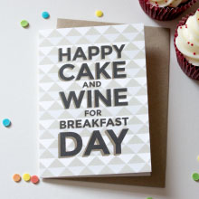 Happy Cake and Wine Day