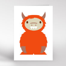 Kids Gruffalo birthday card