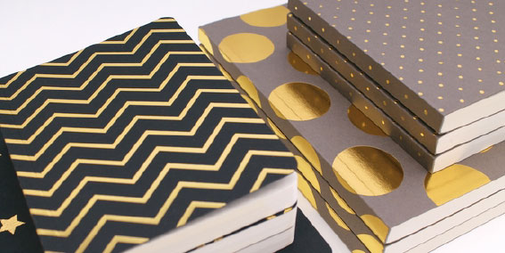 New Foil Notebooks