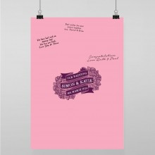 Personalised Guest Sign Poster - Woodland Romance