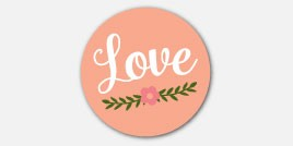 Stickers - Love, Laughter