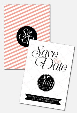 Personalised Save The Date - Coco