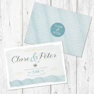 Coastal invitation - sample