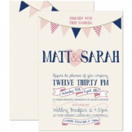 Summer Fete invitation - sample