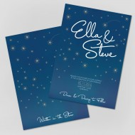 Written in the Stars invitation - sample