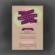 Woodland Wedding Invitation - Sample