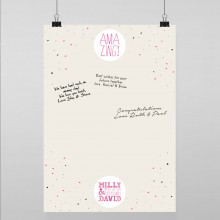 Personalised Guest Sign Poster - AMAZING!