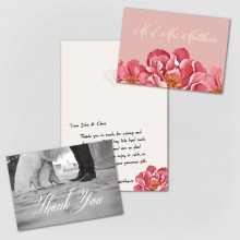 Personalised Thank You Cards - Bella