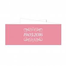 Personalised Belly Bands - Chalkboard Blossom