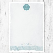 Personalised Guest Sign Poster - Coastal