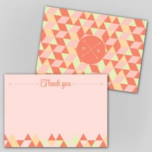 Personalised Thank You Notes - Geo Love
