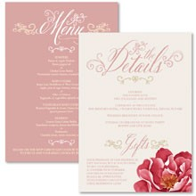 Personalised Information Cards - Bella