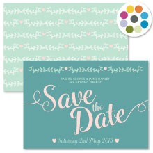 Personalised Save The Date - Southern Belle