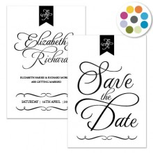Personalised Save The Date - Pure Love