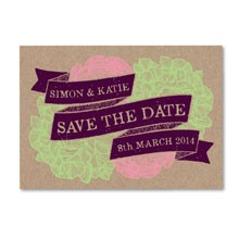 Woodland Save the Date