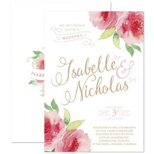 Personalised Wedding Invitations - Sweet Green