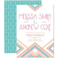 Personalised Wedding Invitations - Lexington Summer