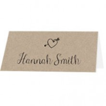 Personalised Wedding Place Names - Rustic Charm