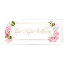 Personalised Place Name - Peony