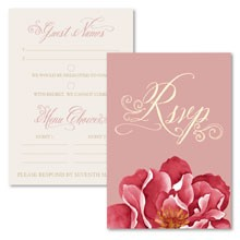 Personalised RSVP Cards - Bella