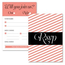 Personalised RSVP Cards - Coco