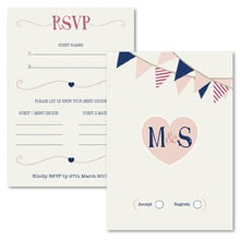 Personalised RSVP Cards - Summer Fete