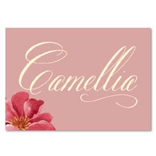 Personalised Table Name - Bella