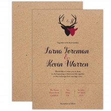 The Stag Wedding Invitation