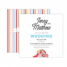 candy wedding invitation thumbnail