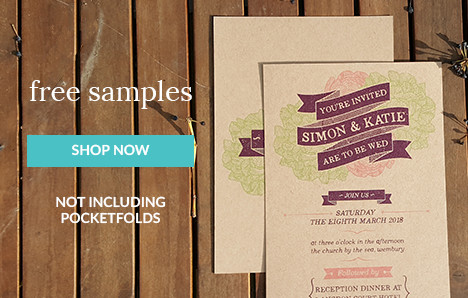 free wedding invitation samples uk