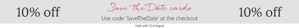save the date promotion